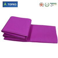 Extra Long 72-Inch Best Travel Yoga Mat foldable yoga mat