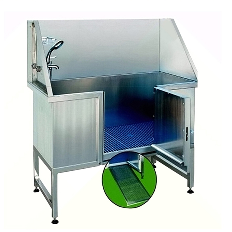 Environmental Protection Stainless Steel Dog grooming Bathtub