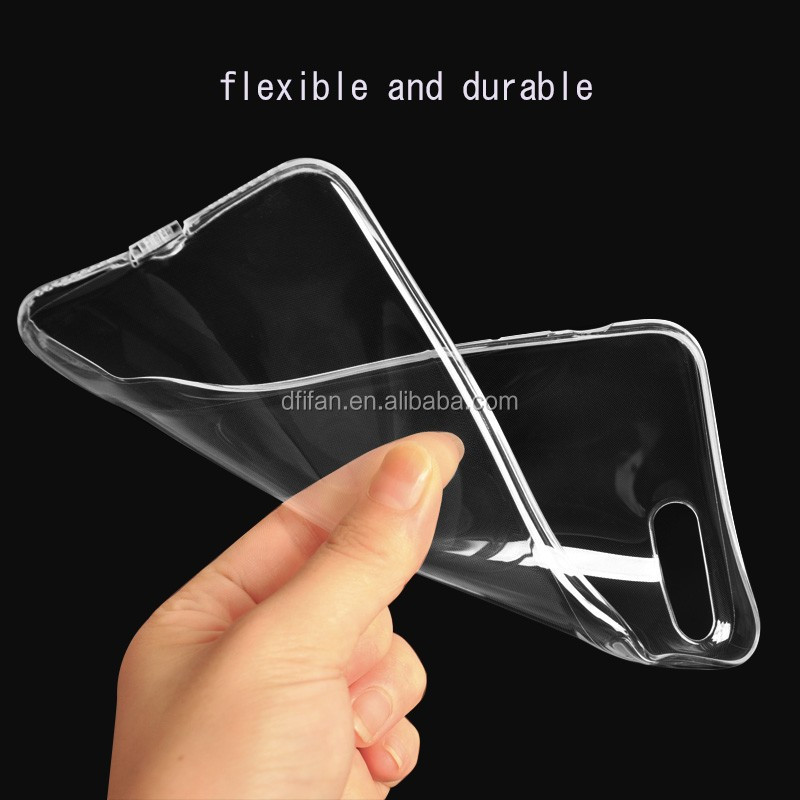 DFIFAN Clear TPU wholesale Ultra Thin Cell Phone Cases for iphone 8 8 plus , Transparent soft tpu case for iphone 8