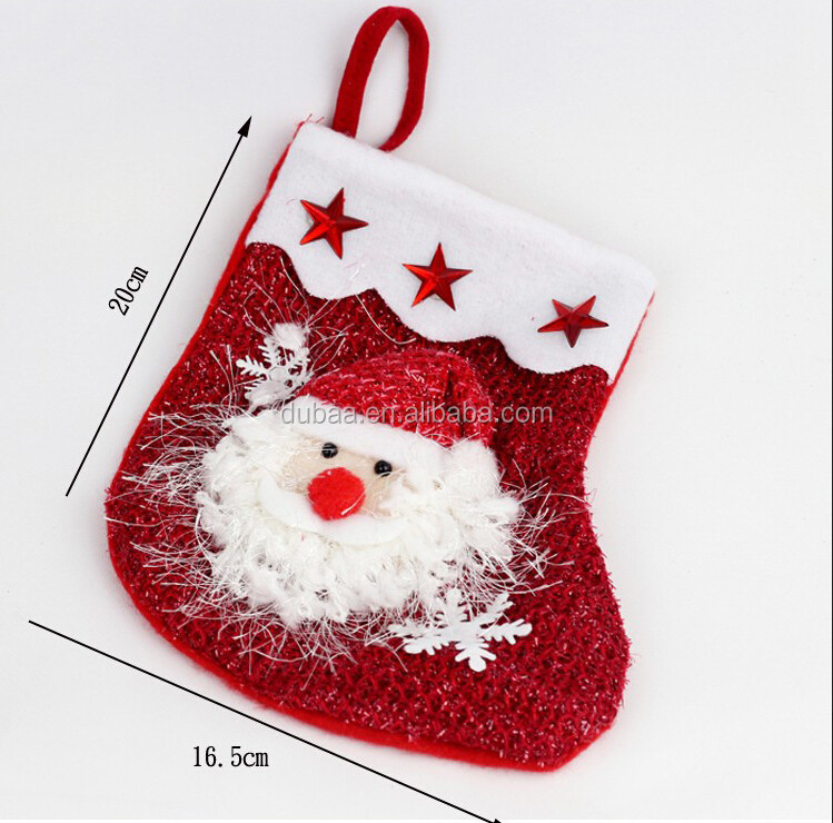 2016 Hot Sale New Deign Christmas Stocking Buy Christmas