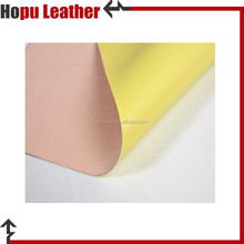 micro touch pu artificial leather and shoe lining material made in china