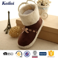 vivid new design winter boot for woman