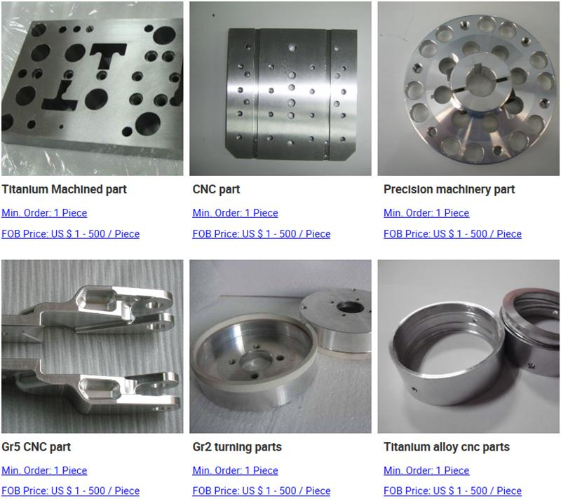 Gr5 cnc machining aluminum 6061 parts for Australia
