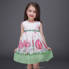 latest summer 2016 girl print dress, western party wear dresses, 7 year old girl birthday party