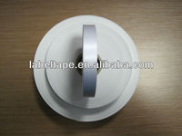 white polyester satin label fabric