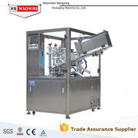 Automatic Ultrasonic Plastic Tube Filling Sealing Machine/Solution for Cosmetic Packing