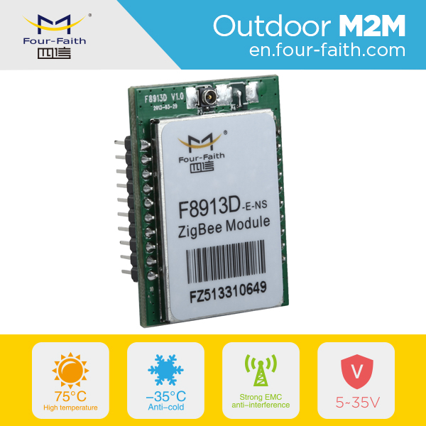F8913D Embedded Zigbee Module for Remote Control Street Light