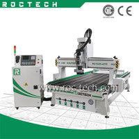 Doors Kitchen Cabinets RC1325-ATC Wood Cnc Router Furniture Making Machine