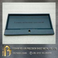 customized sheet metal color galvanized double door enclosure fabrication