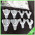 Dental disposable products denture tray impression trays