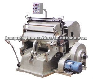 MLM&VT01 Series of paperboard die cutting creasing machine