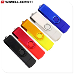 USB Flash Drive Memory Stick Pen External Storage Rotate U Disk Pen Drive 512MB 1GB 2GB to 128GB For Gift