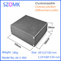 high quality custom Extruded Aluminum Heat Sinks Enclosure Junction Box