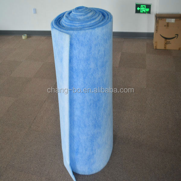 Air Inlet Cotton/intake filter media/Pre-filter media factory