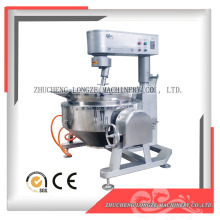 Gas heating factory price stainless steel cooking mixer machine / food cooking kettle with mixer