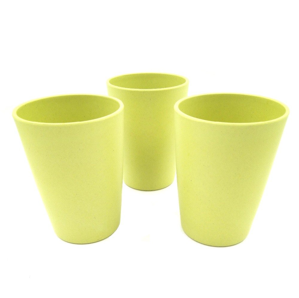 Biodegradable plant fiber plastic kids drinking cup, children cup, kids cup