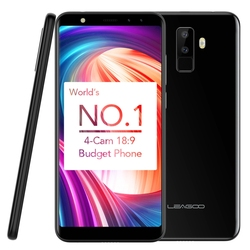 World No.1 Budget Phone 4 Camera 18:9 Cell Phone LEAGOO M9 Mobile Phone 2GB 16GB Smartphone