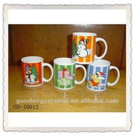 Best selling ,Christmas cups mat bar decoration ,coffee cup