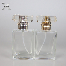SGS certification 30ml customized glass vial tube spray perfume cosmetic bottle clear