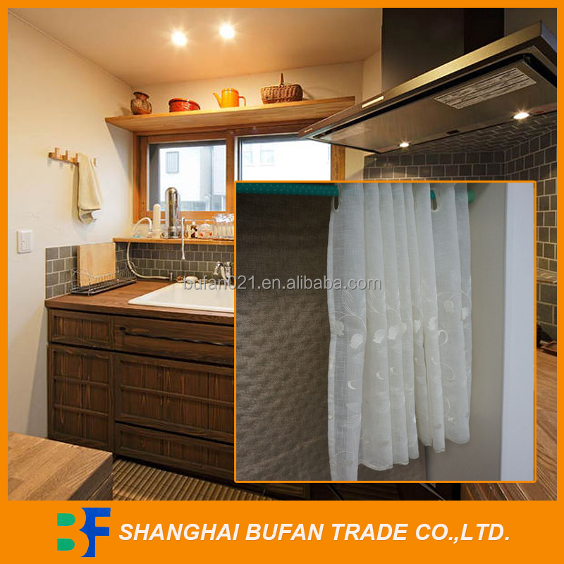 China good supplier first grade christmas kitchen curtains
