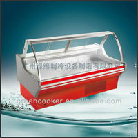 meat chiller/freezer glass door with cover