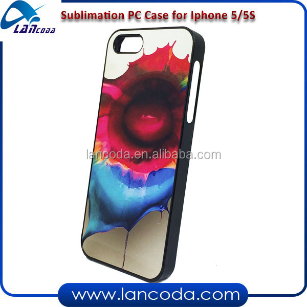 Heat Transfer Sublimation Phone Case, for iPhone 5/5S mobile cover case
