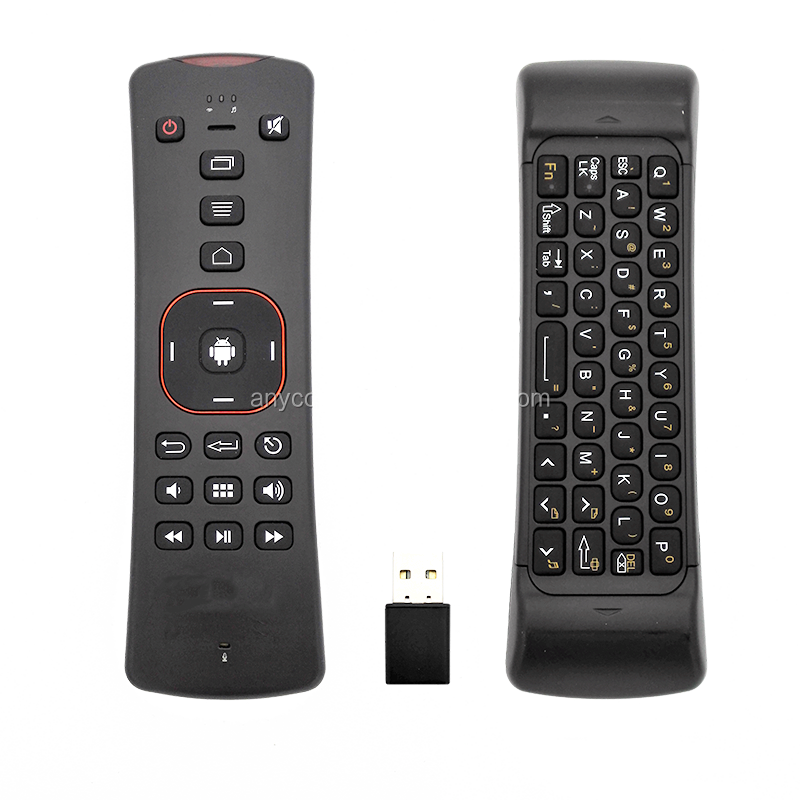 2.4G Wireless Keyboard Mouse, Mini Wireless Keyboard & Infrared Remote Control for smart smart tv