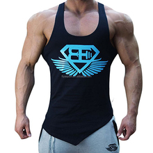 2017 New <strong>design</strong> Men's Fitness Gym Tanks Top Bodybuilding Workout Sleeveless Shirts Singlet