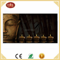 LED canvas buddha painting wholesale battery operated buddha canvas painting
