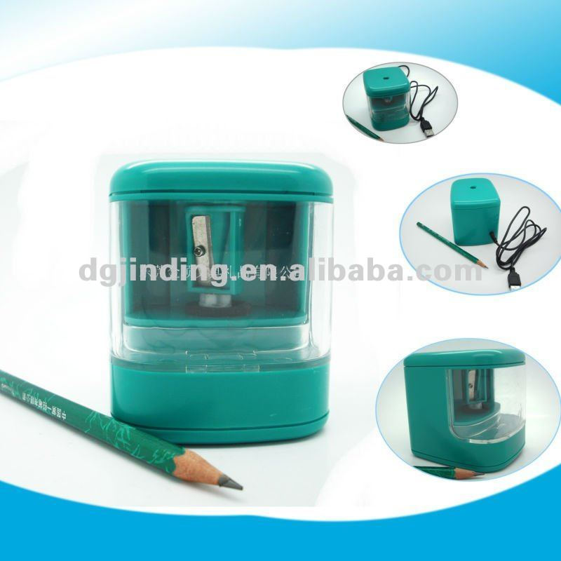 JD3001-3 New design High quality USB Electric Plastic OEM Pencil sharpener