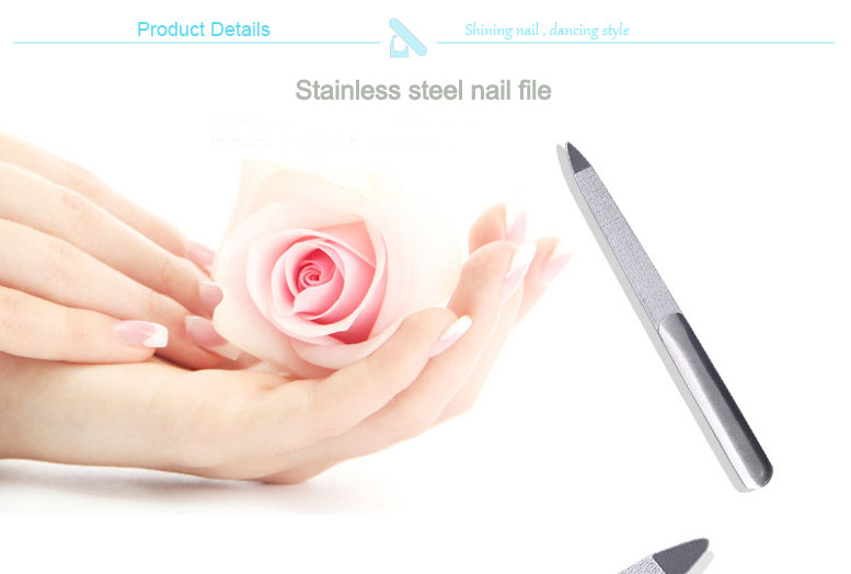 Stainless Steel Metal Nail File