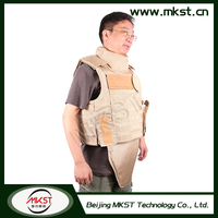 MKST648 Series Full Protection Helmet Kevlar Body Armor , Tactical Body Armor Vest , Bullet Proof
