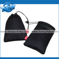 Gift packing wholesale mesh pouch, fish net bag