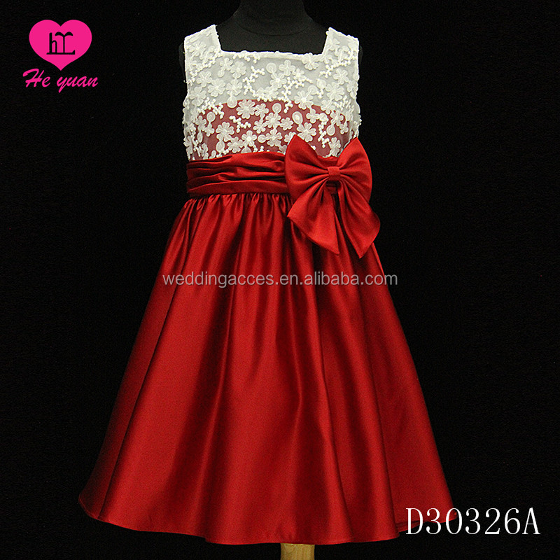 D30326A JH Flower Girls Dresses Soft Lace Dress with Rhinestones party dresses girls