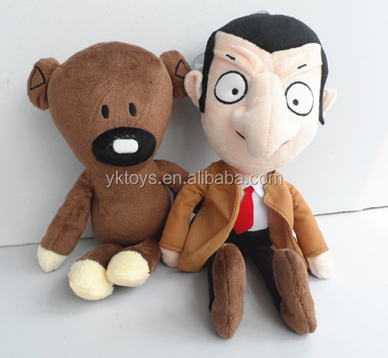 Hot sales design famouse plush toy character bear shape doll toys