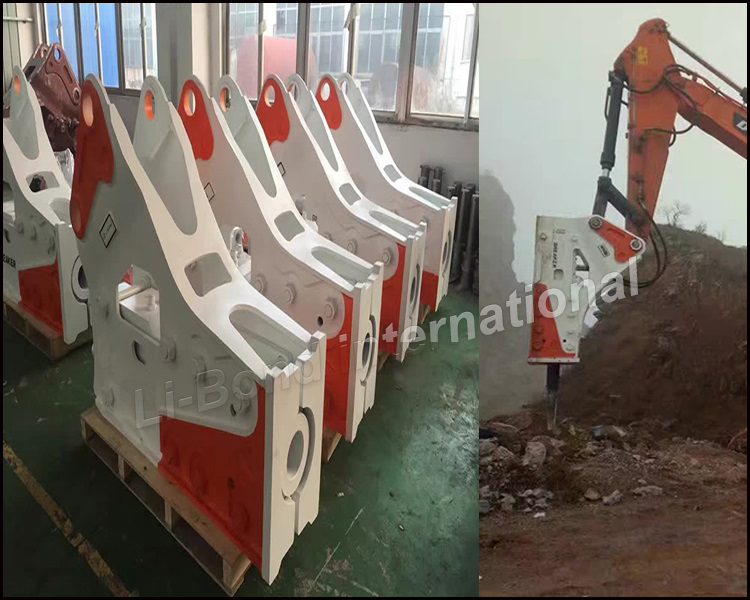hight quality excavator breaker excavator demolition hydraulic demolition hammer