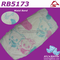 High Quality Competitive Price Disposable Non Woven Baby Diaper Manufacturer from China