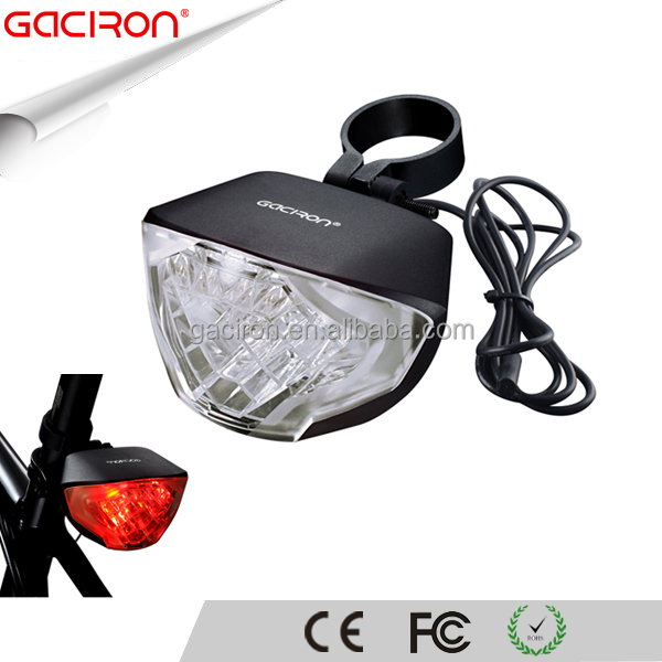 Gaciron Best Cree LED Rear Postion Commuter Bicycle Bike Cycling Safety Brake Light