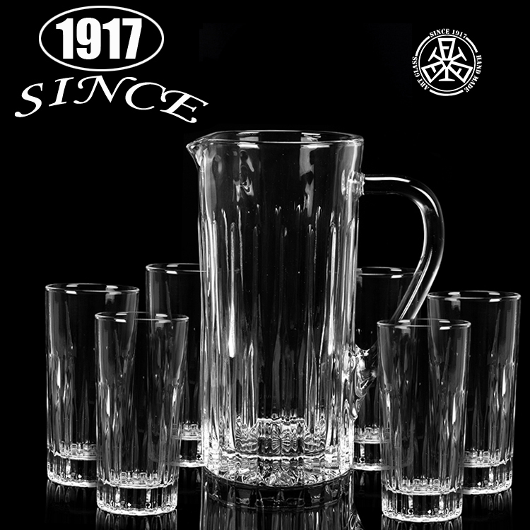 Crystal vintage drinking cup long drink glass