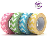 Wholesale Colorful Adhesive Striped Washi Paper Printed Tape