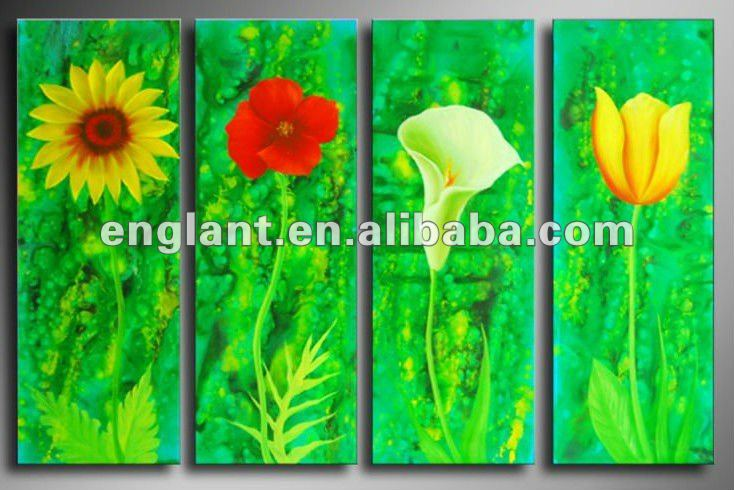 Hand-painted Decoration Abstract Painting On Canvas