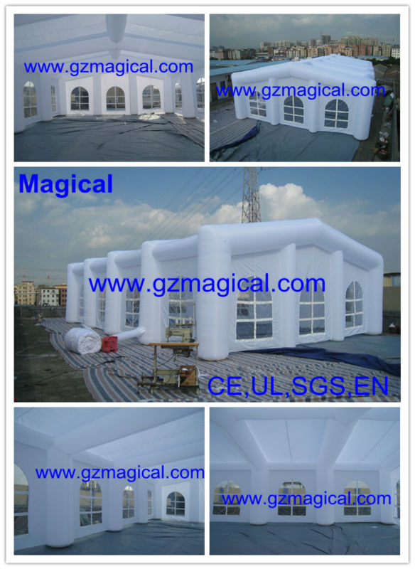White inflatable party tent inflatable events tent inflatable tent