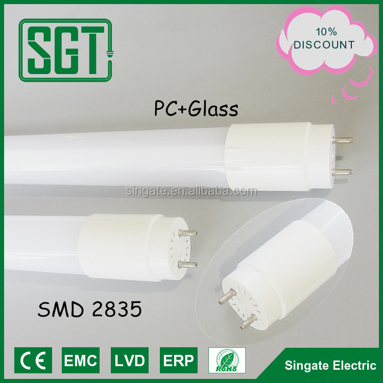 Tube8 ul certify new design lowest price high lumen smd2835 China LED tube8