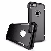 Factory Outlet Mobile Phone Shell Case TPU+PC Matte Cover For 5/5S/SE Case
