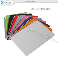 3 fold strong magnetic for ipad mini thin cases with wake up function