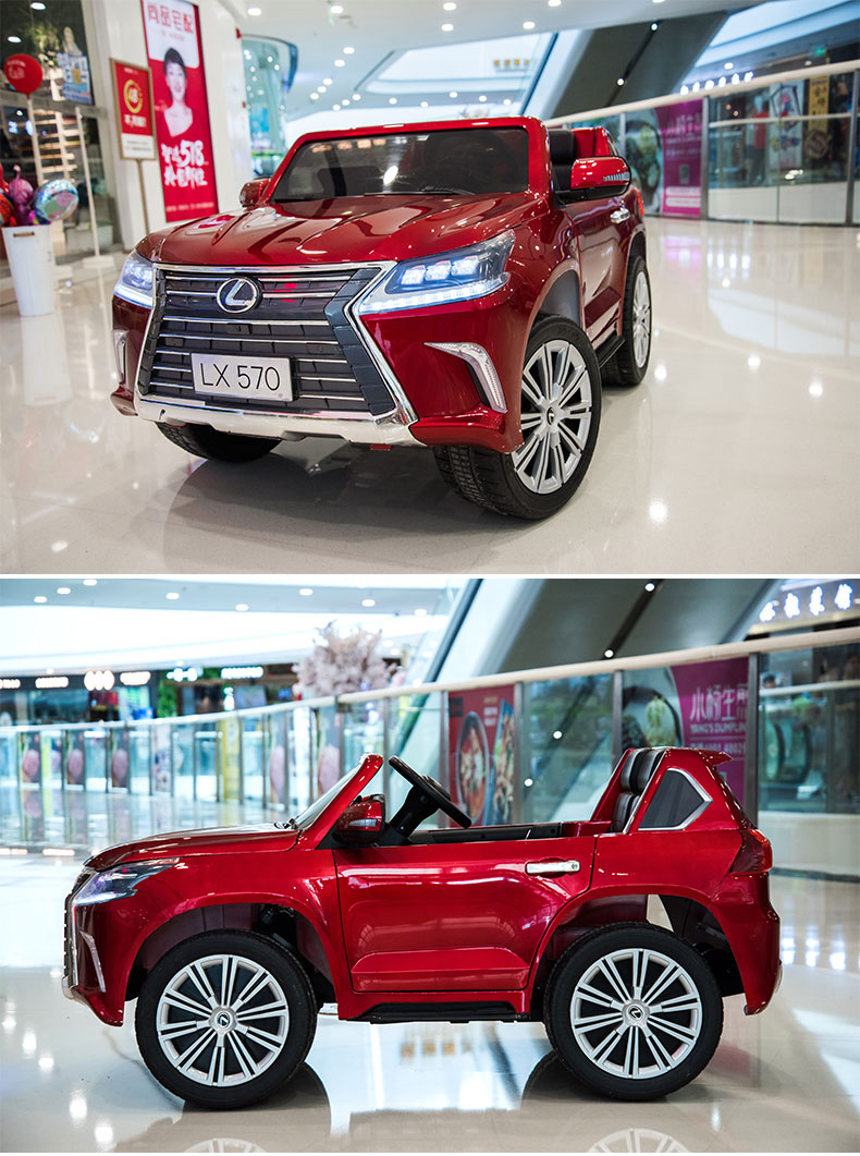 12V Electric Car Children Electrical Kids Ride on Car Lexus LX570  for Kids