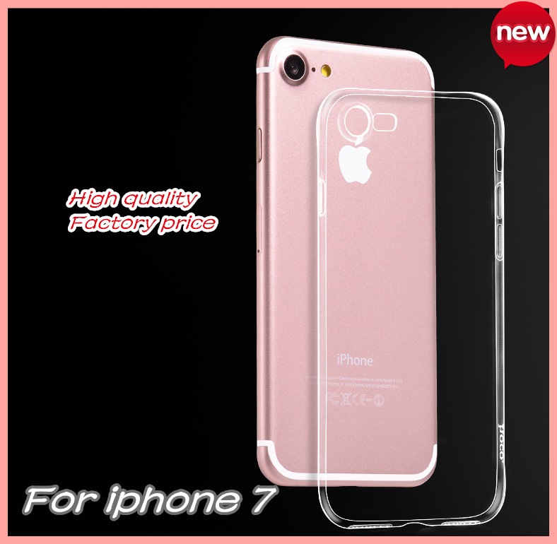 New product Shenzhen China TPU Ultra slim for iphone 7 case clear phone case for iphone 7