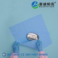Disposable Medical Crepe Paper Sterilization Wrap with free samples