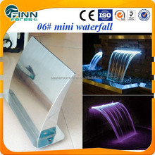 06# Wasserfall Klinge Dekoration Mini Indoor Wasserpark