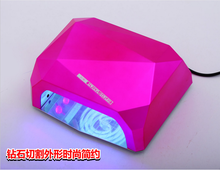 Ccfl Nail salon equipment portable 36W USB rechargeable mini uv led nail lamp